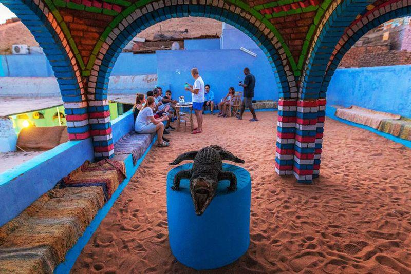 Nubian Villages in Aswan Egypt
