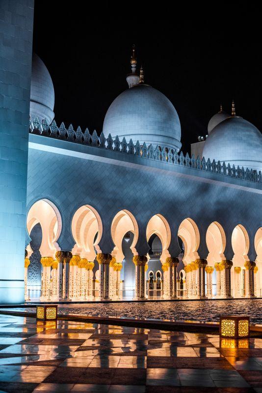 A Grande Mesquita Sheikh Zayed