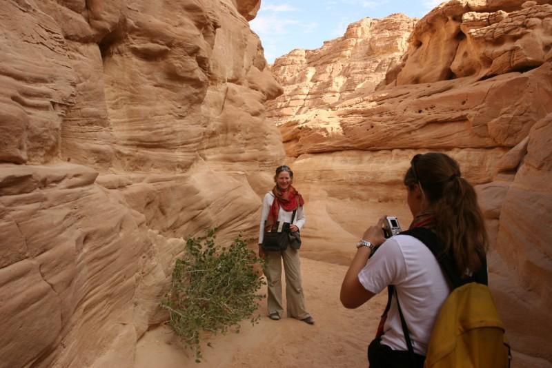 Safariausflug zum Coloured Canyon mit Jeep ab Sharm