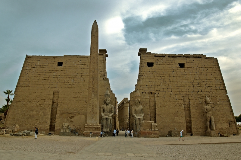 Luxor Temple Pylon (Entrance)