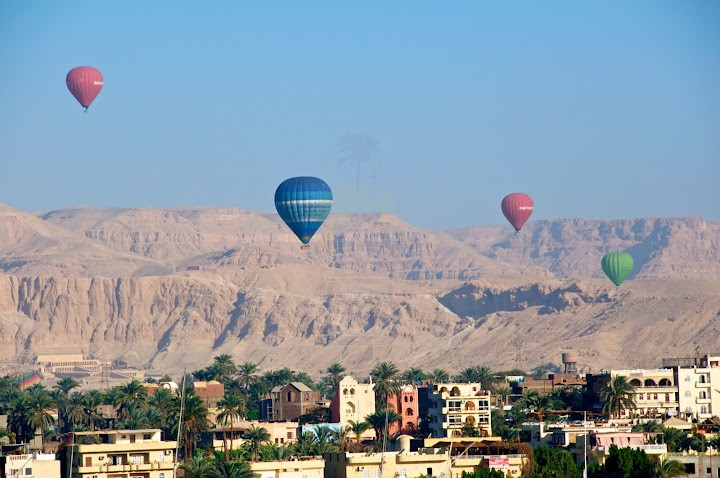 Hot Air Balloon Adventure in Luxor