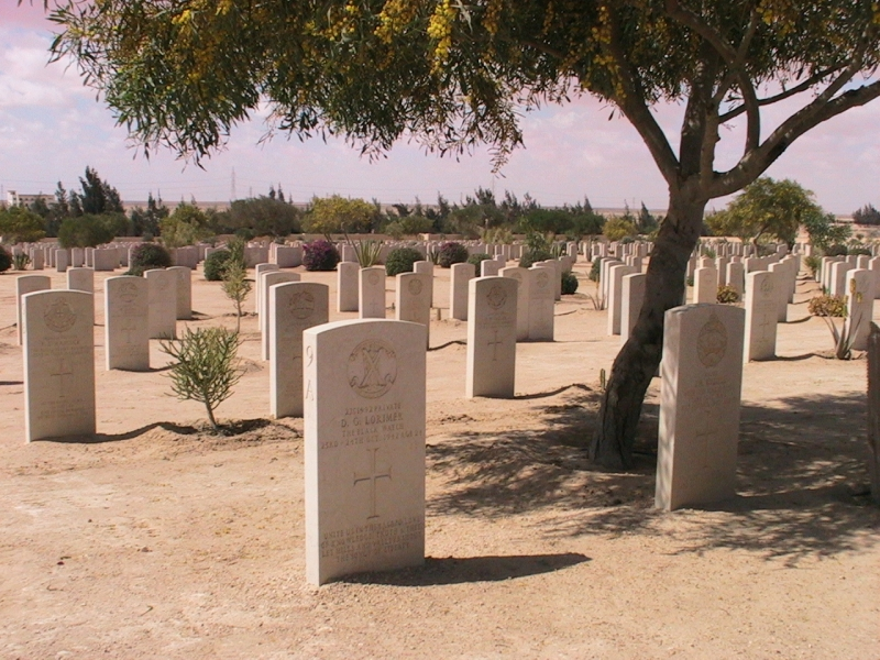 World War II Cemeteries in Al Alamein