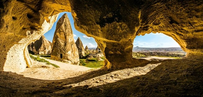 Rock Formation of Cappadocia Valley