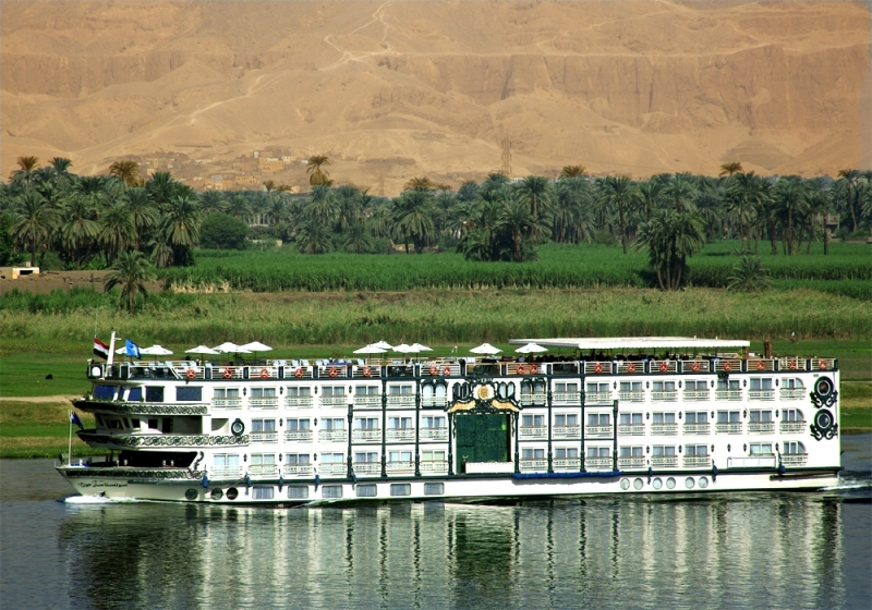 Nile Cruise Sailing, Egypt