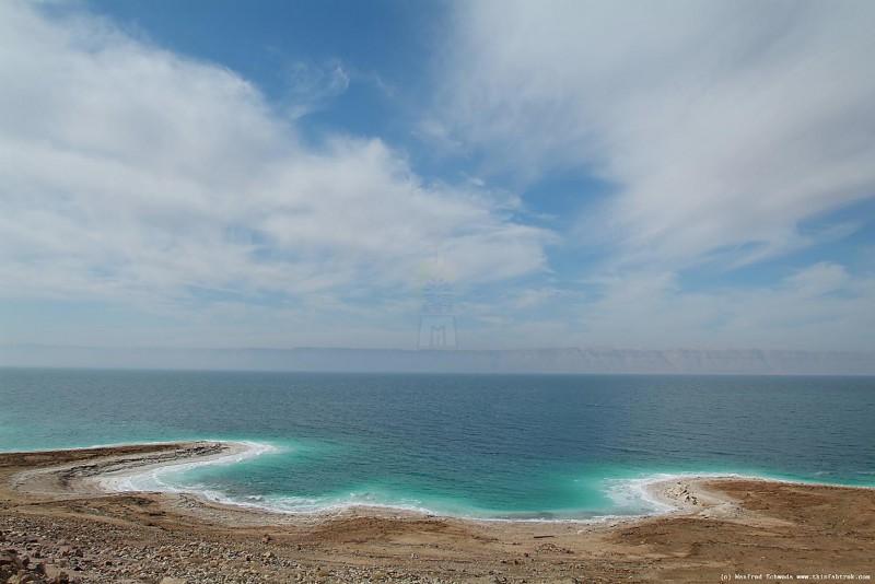 Scenic View of the Dead Sea