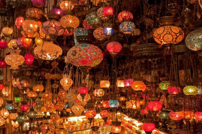 Bazaar de Khan El Khalili, Cairo Velha.