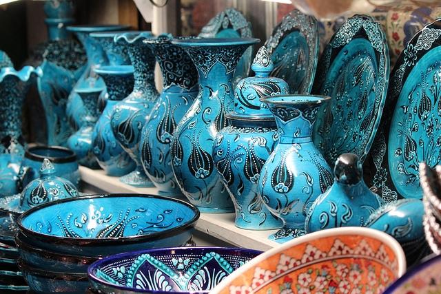 Ceramic Handicrafts in Grand Bazaar