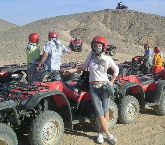 Desert Safari in Hurghada by Quad Bike