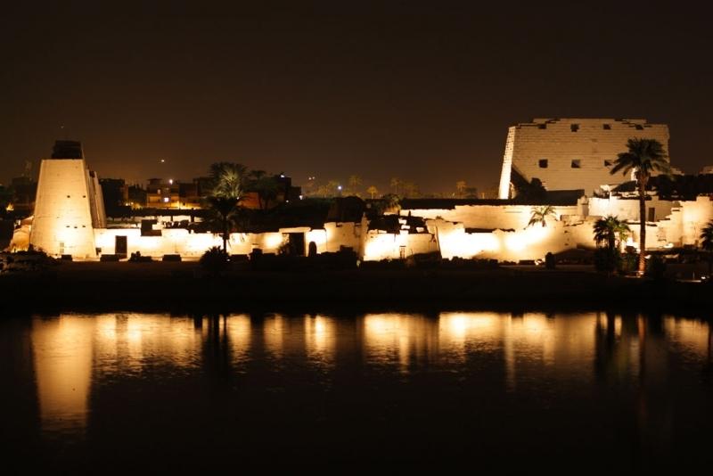 Spectacle Son & Lumière à Karnak