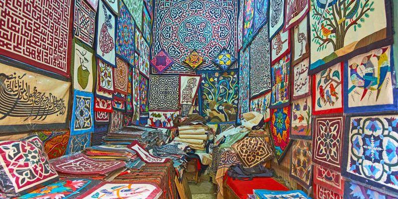 Khayamiya   Tentmakers Bazaar - Souk Al Khiyyamia