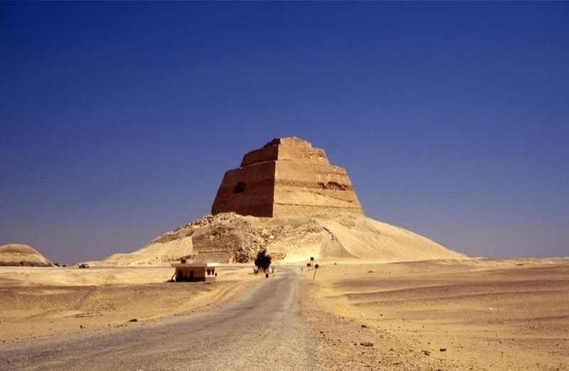 Pyramide de Meïdoum, el Fayoum