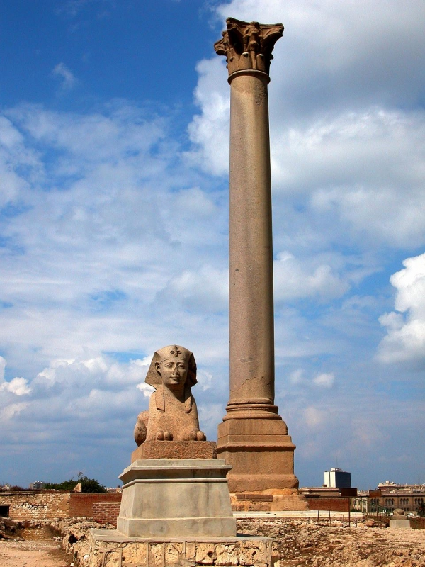 pompeys pillar chat Pompey's pillar is the most well known egyptian monument that is still standing among the ancient remains of egypt situated on a modest hill near the large arab cemetery in the southwest of egypt.