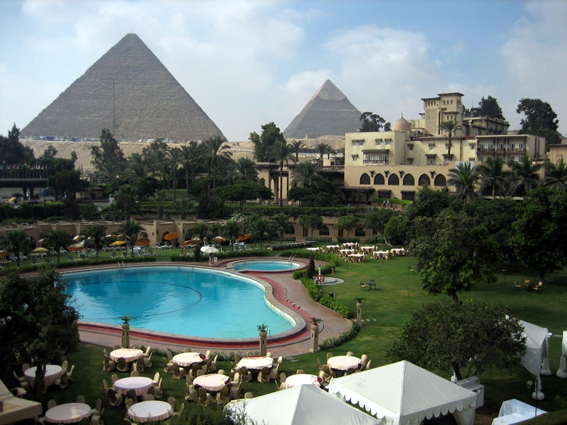 cairo golf at the mena house oberoi: