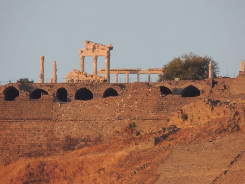The Ruins of Pergamum
