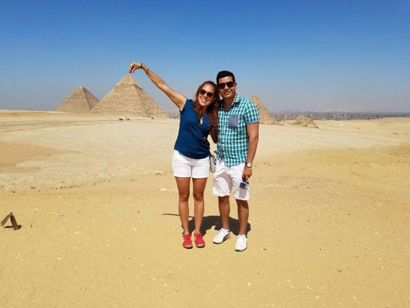 The Pyramids of Giza Visitors