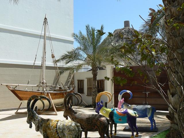 Bait Al Zubair Museum in Muscat