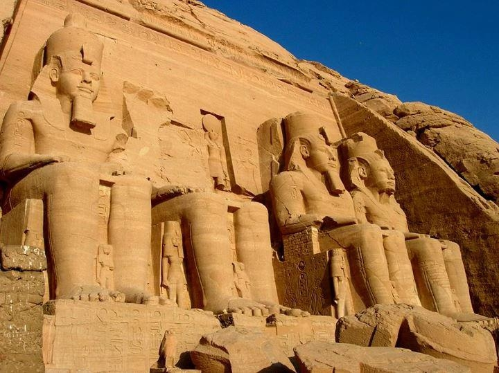 Abu Simbel Temple from Aswan - Egypt