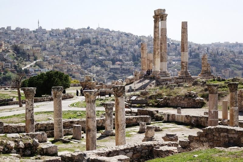 Al Jabal citadel in Amman.
