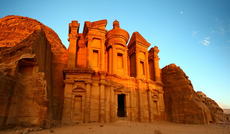 The Monastery in Petra, Jordan