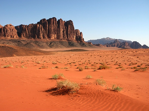 Wadi Rum (Valley of the Moon)