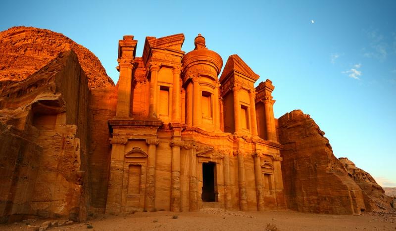 The Monastery in Jordan