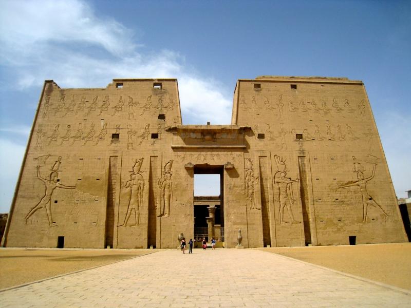 The Beauty of Edfu Temple