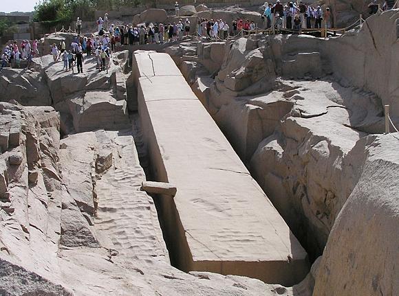 El obelisco inacabado, Asuán
