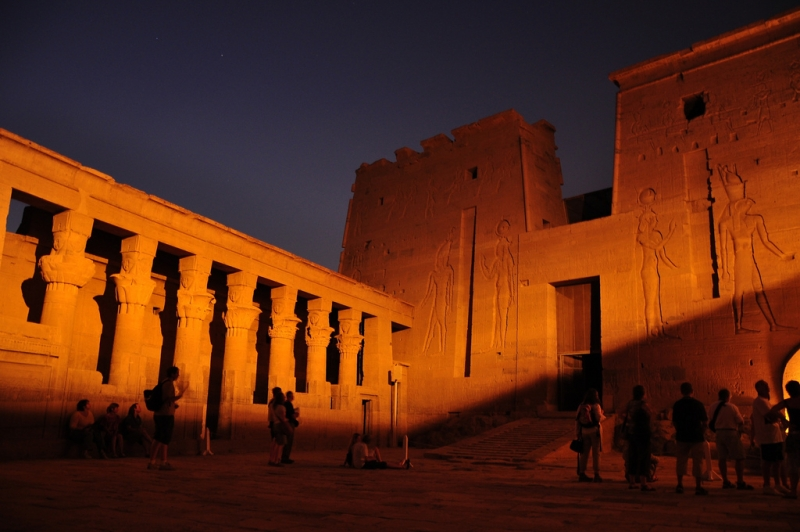 Philae Temple by the night, Aswan