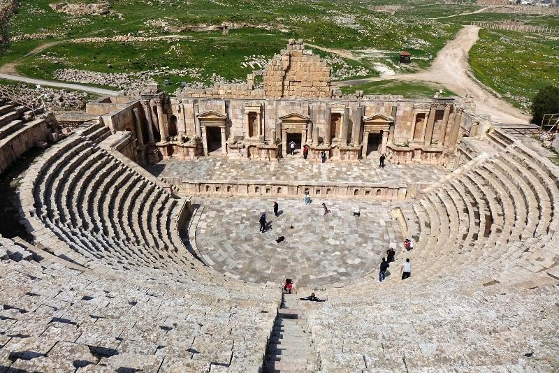 Jerash in Jordan.