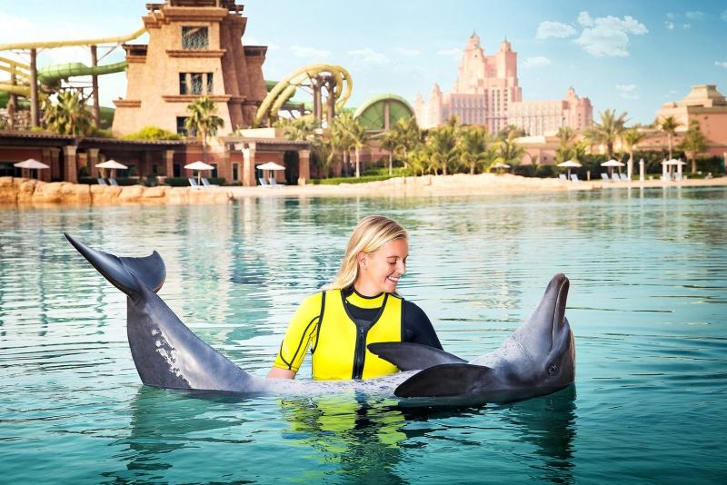 La Bahía de los Delfines de Atlantis.