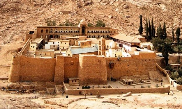 El Monasterio de Santa Catalina, Sinaí