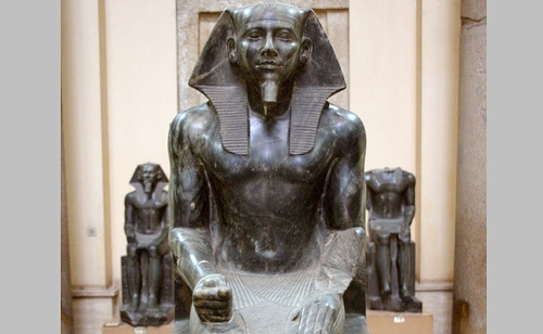 Khafre Statue