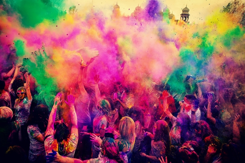 Holi Festival of Colors India