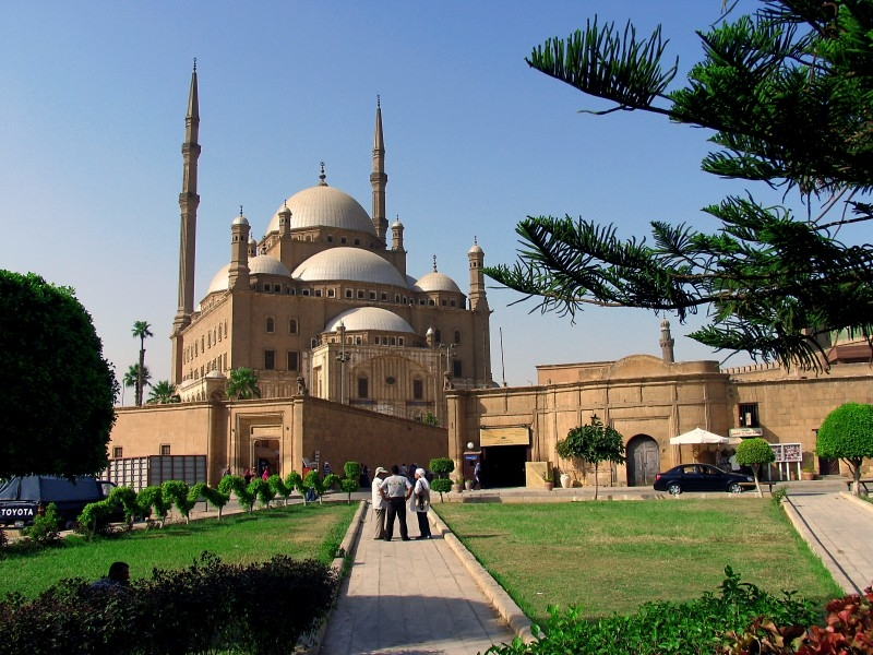 The Mosque of Muhammad Ali Pasha in Cairo