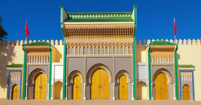 Dar El Makhzen Palace