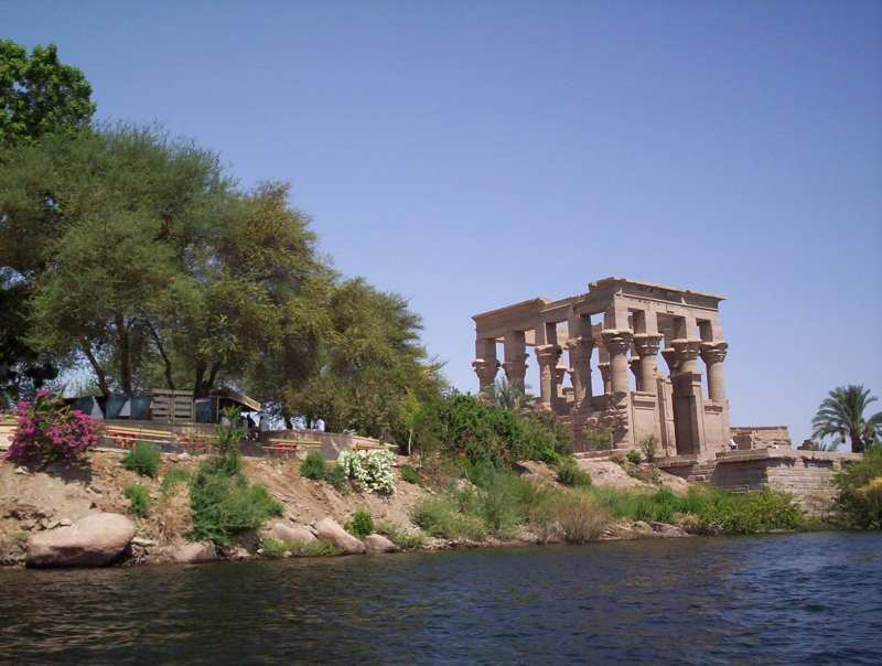 Philae Temple on the Nile