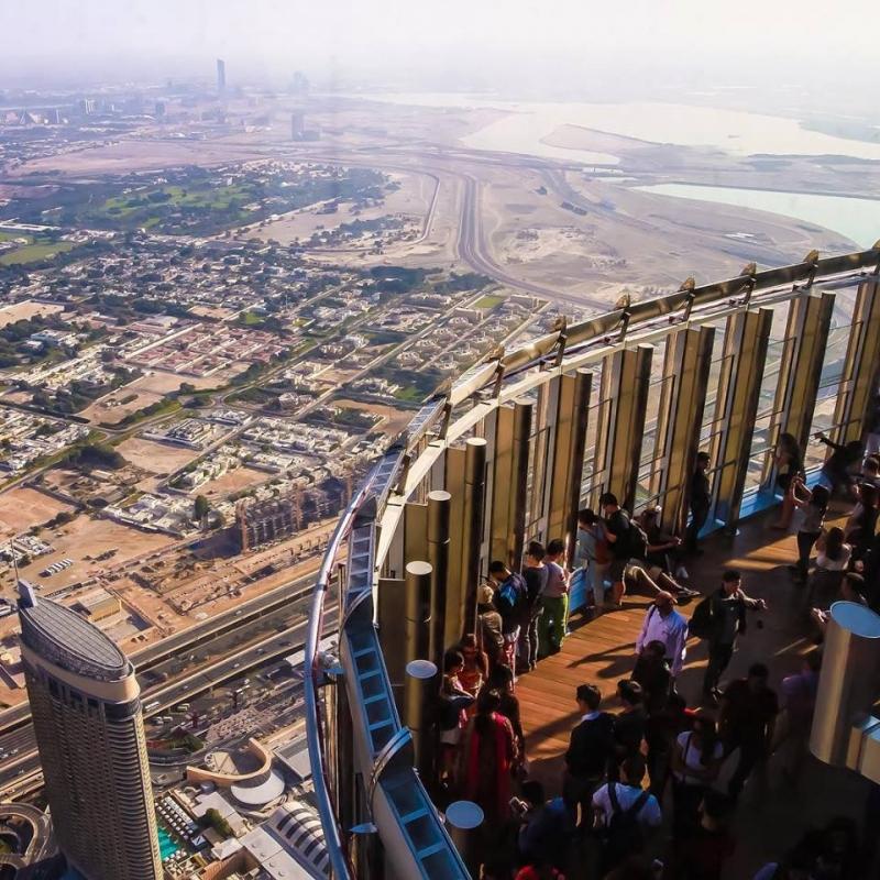 Dubai Stadtrundfahrt inkl. Burj Khalifa Ticket