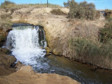 El Fayoum Wasserfall