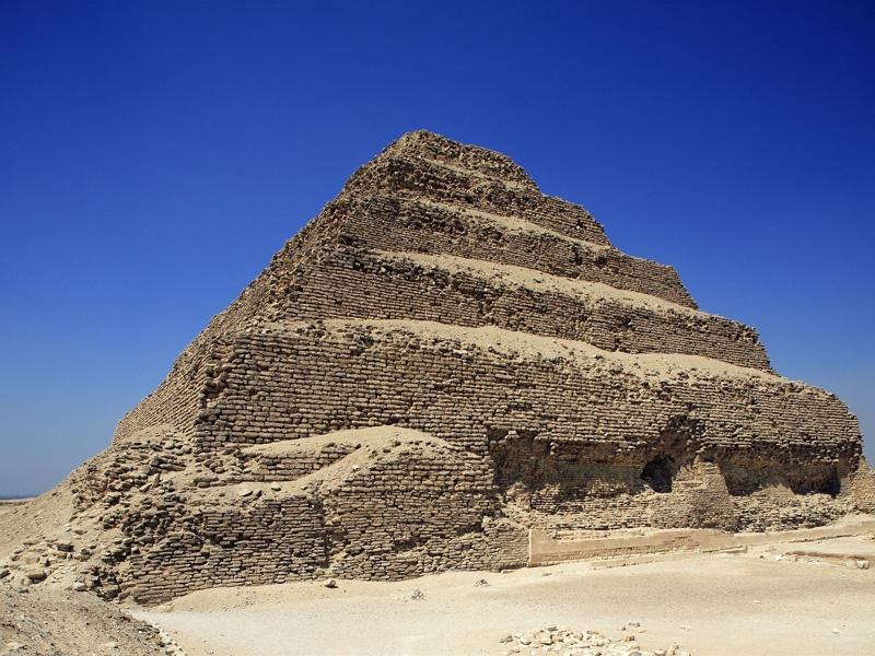Step Pyramid of Djoser in Saqqara | Saqqara Step Pyramid ...