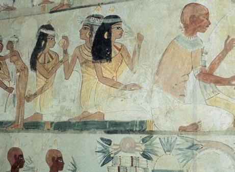 Tomb in Beni Hassan, Minya