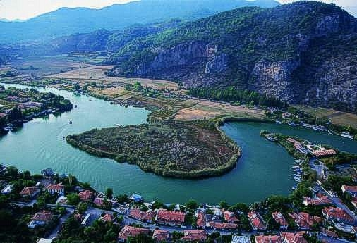Dalyan in Turkey
