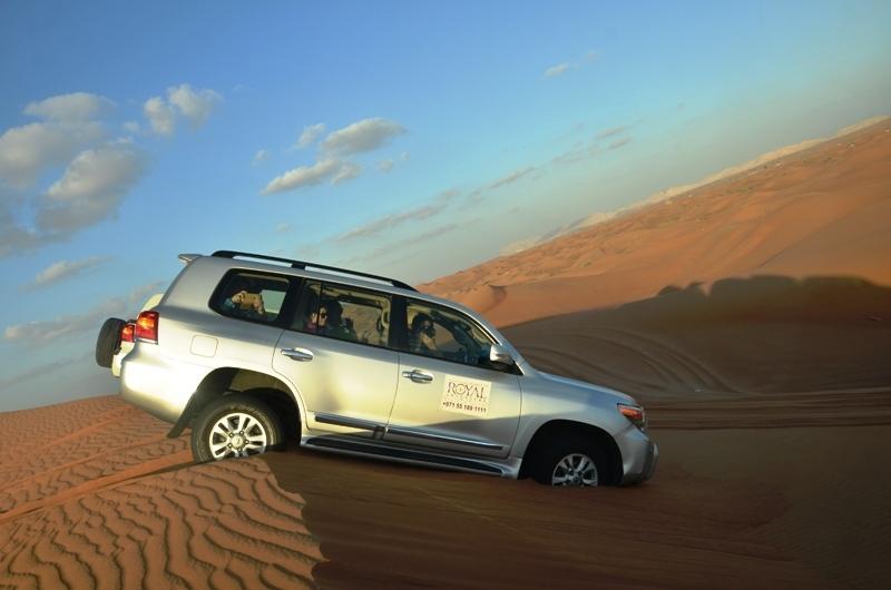 Dubai Deluxe Safari Tour from Port Rashid