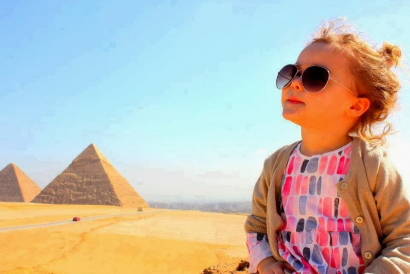 Have Fun at Giza Pyramids