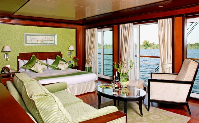 Nile Cruise Cabin