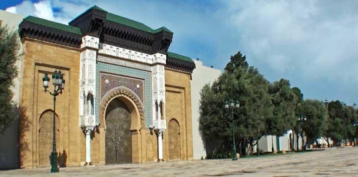 El Palacio Real, Casablanca.
