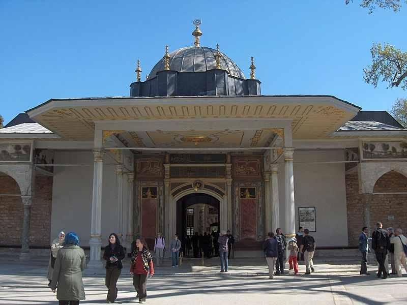 La Porte de la Félicité, Palais de Topkapi