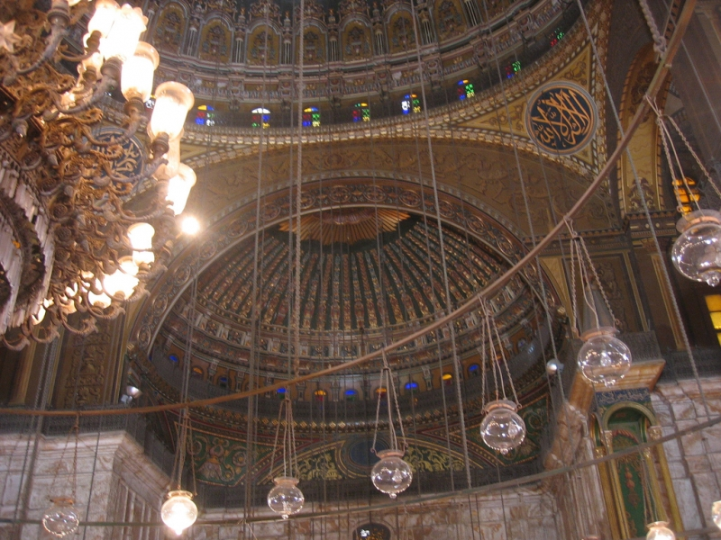 Mosque of Mohamed Ali from Inside