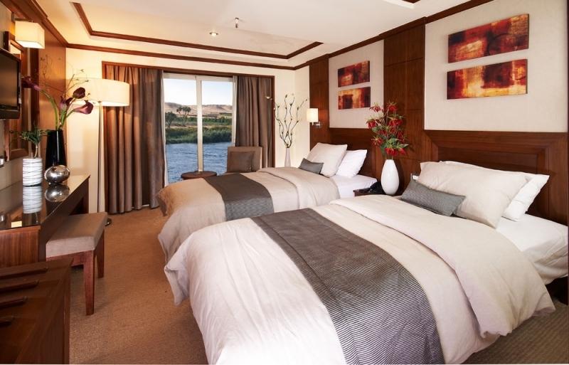 Farah Nile Cruise Twin Bed Cabin