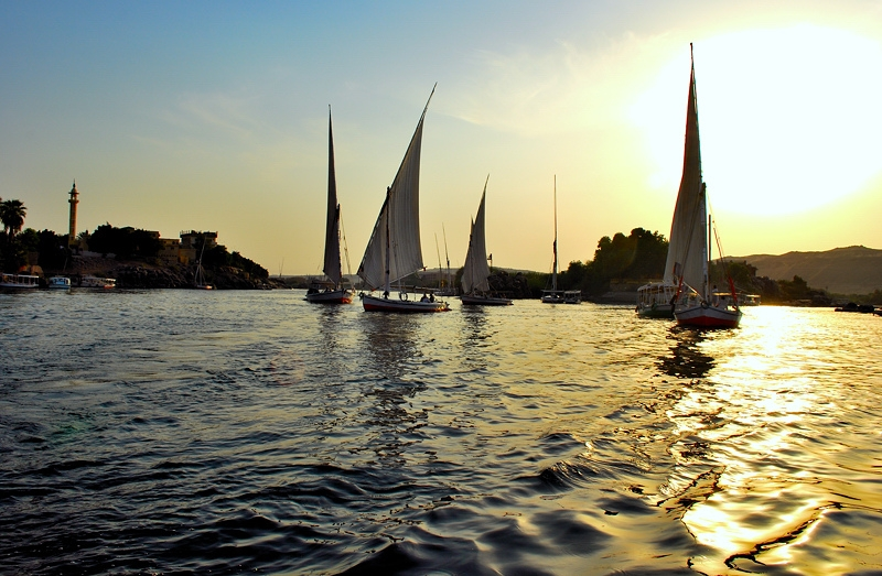 felucca ride on the nile river