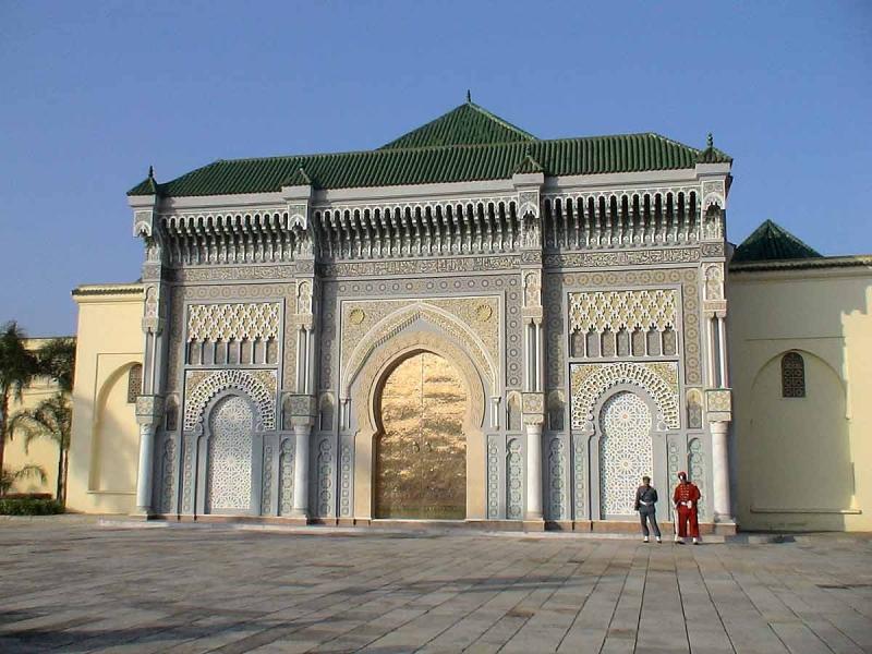 O Palácio Real em Casablanca